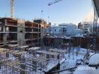 Ход строительства дома на Минина, 6 в ЖК Георгиевский - фото 21, Январь 2021