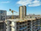 Ход строительства дома Секция 1 в ЖК Гвардейский 3.0 - фото 15, Май 2021