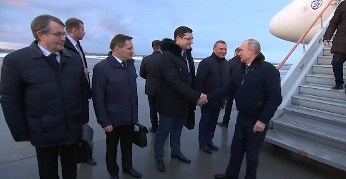 Путин прибыл в Нижегородский регион - фото 1