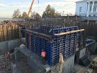 Ход строительства дома на Минина, 6 в ЖК Георгиевский - фото 56, Сентябрь 2020