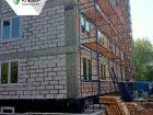 Ход строительства дома № 1 в ЖК Клевер - фото 53, Май 2019