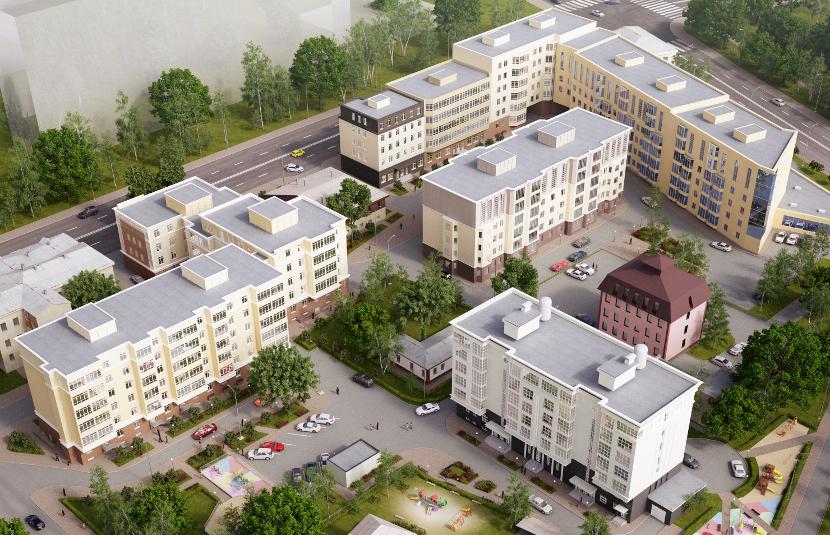 Жилой комплекс «Дворянский» - фото 1