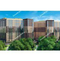 2 комнатная квартира 58,84 м² в ЖК Манхэттен О2, дом Дом 2 - планировка