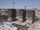 Ход строительства дома Литер 1 в ЖК Звезда Столицы - фото 79, Февраль 2019