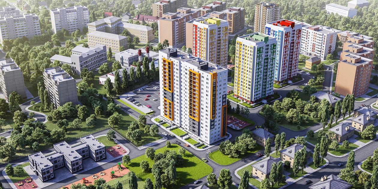 Жилой комплекс (ЖК) «Маленькая страна» вторая очередь строительства в Нижнем Новгороде - фото 1