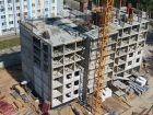 Ход строительства дома № 1 в ЖК Огни Автозавода - фото 16, Июль 2021