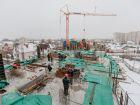 Жилой дом Кислород - ход строительства, фото 65, Декабрь 2020