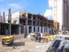 Ход строительства дома № 1 корпус 1 в ЖК Жюль Верн - фото 46, Март 2017