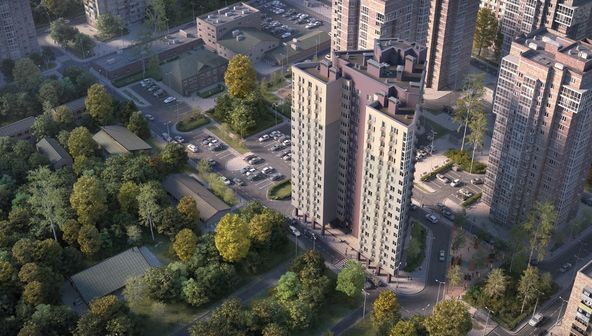 Жилой комплекс (ЖК) «Пушкин» в Нижнем Новгороде