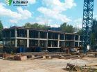 Ход строительства дома № 2 в ЖК Клевер - фото 113, Август 2018