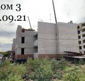 Ход строительства дома № 3 в ЖК Куйбышев -