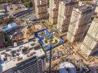 Ход строительства дома Литер 1 в ЖК Звезда Столицы - фото 7, Ноябрь 2020