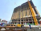 Ход строительства дома Литер 1 в ЖК Рубин - фото 6, Декабрь 2020