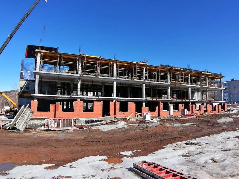 В Жигулевске полным ходом идёт строительство детского сада