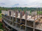 Ход строительства дома № 5 в ЖК Ватсон - фото 16, Июль 2021