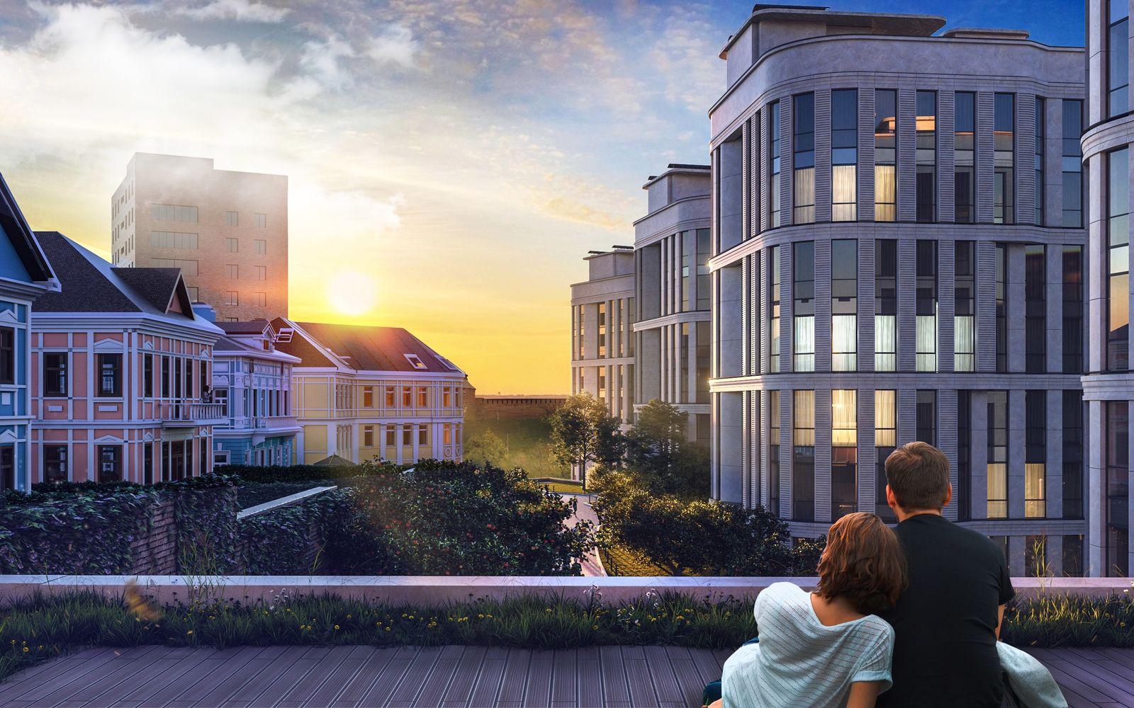 6 причин купить квартиру с собственным уличным пространством  - фото 2