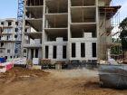 Ход строительства дома №1 в ЖК Премиум - фото 90, Сентябрь 2017