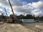 Ход строительства дома № 1 в ЖК Удачный 2 - фото 156, Октябрь 2018