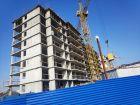 Ход строительства дома № 38 в ЖК Три Сквера (3 Сквера) - фото 26, Апрель 2021