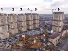 Ход строительства дома Литер 8 в ЖК Звезда Столицы - фото 2, Апрель 2021
