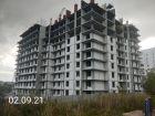 Ход строительства дома № 1 в ЖК Корица - фото 5, Сентябрь 2021