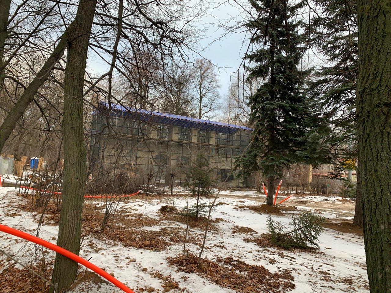 Реставрация входных групп в нижегородском парке «Швейцария» завершена на 20% - фото 1