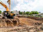 Ход строительства дома № 2 в ЖК Каскад на Автозаводе - фото 16, Май 2021
