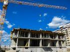 Ход строительства дома Литер 6 в ЖК Южный Берег - фото 20, Октябрь 2019