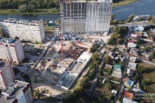 """В Самаре продолжается строительство ЖК """"River House"""""""